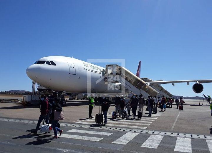 Hébergement pour les passagers des vols de rapatriement en confinement